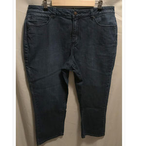 Size 16 Coldwater Creek Cropped Jeans